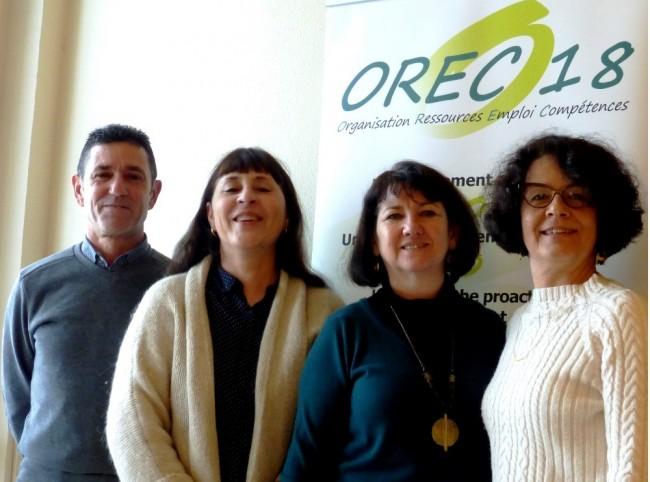 L'équipe d'OREC18 à Vierzon